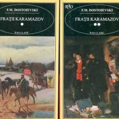 Fratii Karamazov - F. M. Dostoievski, 2 vol. - Roman