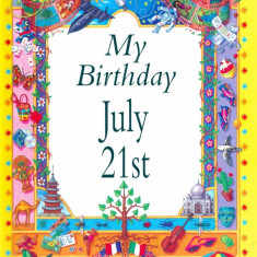 My Birthday July 21st - Carte astrologie