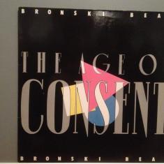 BRONSKI BEAT - THE AGE OF CONSENT (1984/METRONOME/RFG) - Vinil/Vinyl/Impecabil - Muzica Pop