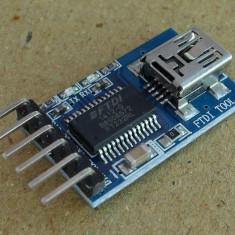 Modul FT232RL FTDI USB to TTL serial 3.3V sau 5.5V Arduino (v.17)
