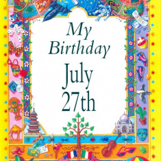 My Birthday July 27th - Carte astrologie