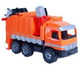 Masina de gunoi portocaliu, Lena