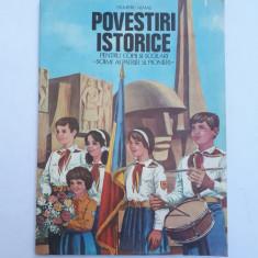 POVESTIRI ISTORICE = DUMITRU ALMAS = PARTEA A TREIA - Carte educativa