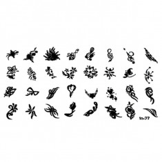 Matrita Stampila Modele Mici - Decoratiuni unghii