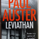 PAUL AUSTER - LEVIATHAN (1992) [FABER AND FABER, 2011] [LB. ENGLEZA]