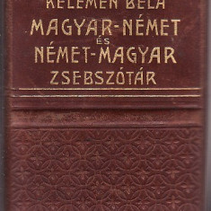 Zsebszotar maghiara?-germana? si germana?-maghiara? - Dictionar