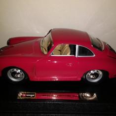 Bburago, Porsche 356 B, 1961, scara 1 24, deosebita, oferta de nerefuzat! - Macheta auto