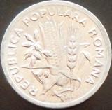 Moneda 2 Lei - ROMANIA, anul 1951  *cod  4185  XF+++, Aluminiu