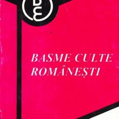Basme culte romanesti - Carte Basme