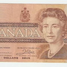 CANADA 2 $ / 1986. - bancnota america