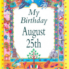 My Birthday August 25th - Carte astrologie