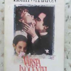 Varsta Inocentei - Edith Wharton ,412362