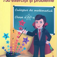 750 exercitii si probleme. Culegere de matematica clasa a IV-a.