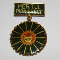 Insigna pionier - Meritul Pionieresc (varianta mica)