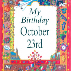 My Birthday October 23rd - Carte astrologie