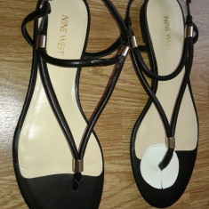 Sandale dama noi NINE WEST, Culoare: Negru, Marime: 40