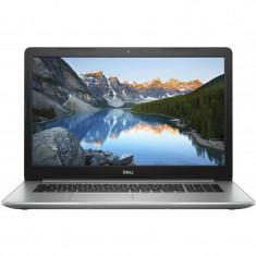 Laptop Dell Inspiron 5770 17.3 inch FHD Intel Core i5-8250U 8GB DDR4 1TB HDD 128GB SSD AMD Radeon 530 4GB Linux Silver