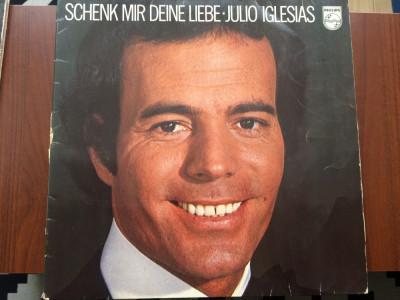 julio iglesias schenk mir deine liebe album disc vinyl lp muzica pop usoara 1976 foto