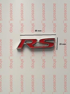 emblema logo RS metal foto