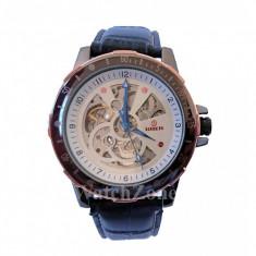 Ceas automatic Goer - Platinium White GM017 - Ceas barbatesc