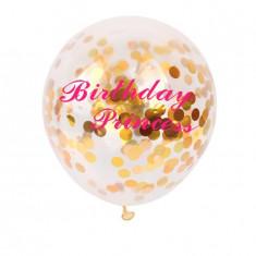 Baloane confetti Birthday Princess - Baloane copii Disney