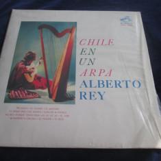 Alberto Rey - Chile En Un Arpa _ vinyl,LP _ RCA (Chile), VINIL, rca records