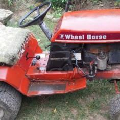 Tractor cu plug tractoras tuns gazon / gradina motor Briggs Stratton Husqvarna