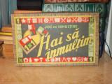 JOC VECHI ROMANESC ''HAI SA INMULTIM'' , JOC DE INMULTIRE - ANII '60