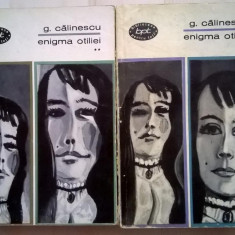 George Calinescu – Enigma Otiliei {2 volume} - Roman