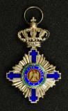 Decoratia, Ordinul STEAUA ROMANIEI, Tip 1, Cavaler, Civil, impecabila