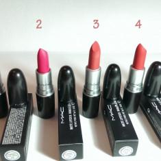 Ruj Mac Cosmetics MAC in culori mate