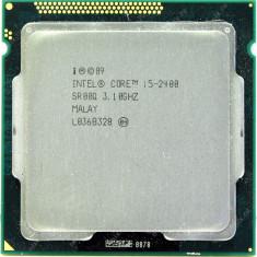 Procesor Intel I5 2400, 3, 1GHz, socket 1155 stare perfecta, garantie - Procesor PC Intel, Intel Core i5