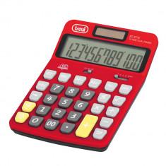 Calculator de birou TREVI EC3775 Rosu - Calculator Birou