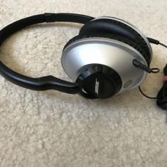 Casti BOSE TRIPORT over ear originale 100%, sunet de calitate specific BOSE, Casti Over Ear, Cu fir, Mufa 3, 5mm