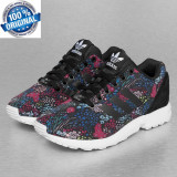 "Unicat ! Originali  100%  ADIDAS ZX FLUX ""Spring""  Unisex din germania nr 43, 43 1/3, Din imagine"