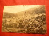 Ilustrata Vedere Generala- Manastirea Agapia circ. 1912 la Ungheni, Circulata, Printata
