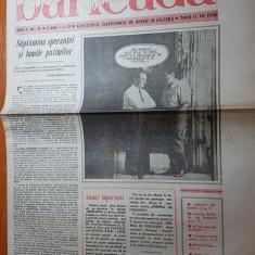"""Ziarul baricada 17 iulie 1990-art. despre regele mihai- """"coroana contra secera """""""
