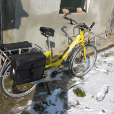 Vand / Schimb Bicicleta Gitane City - cadru si cosuri aluminiu - Bicicleta de oras Gitane, 19.5 inch, 26 inch, Numar viteze: 3