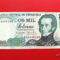 VENEZUELA - 2.000 Bolivares 1998 - bancnota america
