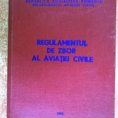 Regulamentul de zbor al aviatiei civile {1983} - Carti Transporturi