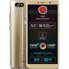 Smartphone Allview V3 Viper 32GB Dual Sim 4G Gold - Telefon Allview