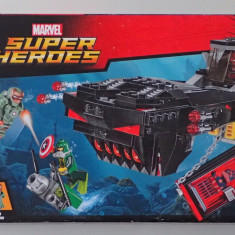 Lego Super Heroes 76048 Atacul submarin al lui Iron Skull Sub Attack nou sigilat - LEGO Marvel Super Heroes