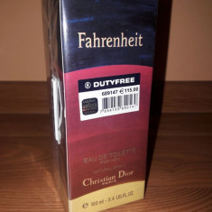 Parfum Christian Dior Fahrenheit 100ml - Parfum barbati Christian Dior, Apa de toaleta
