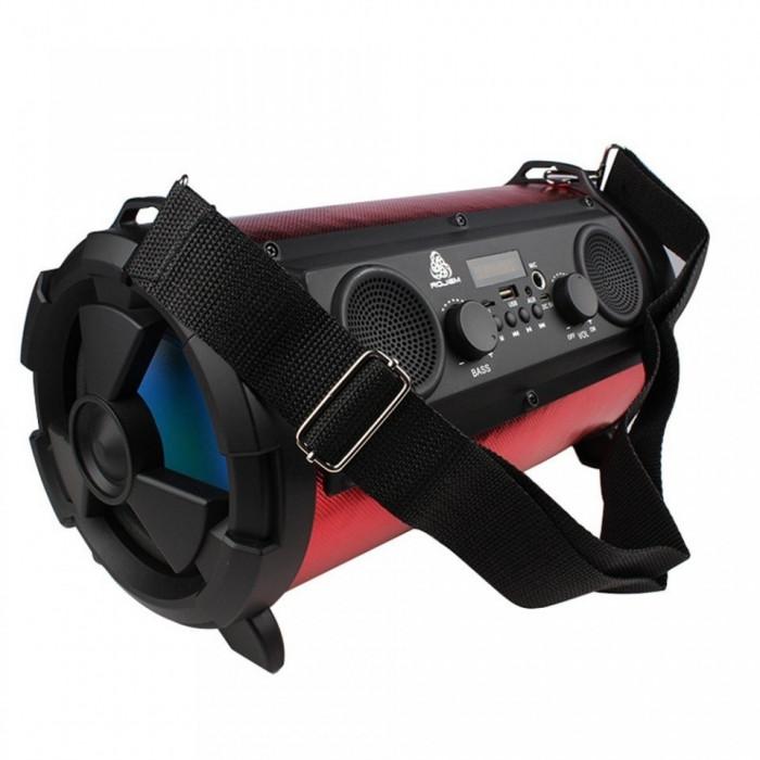 Boxa subwoofer 4 difuzoare cu mp3,usb,radio,tub bass,portabila,afisaj,bluetooth