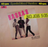 Baobab - N.O. J.O.B. 1983, disc vinil Maxi Single super hit elektro