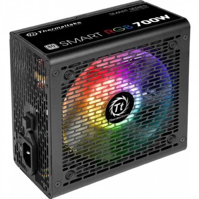 Sursa Thermaltake Smart RGB 700W 80 Plus foto mare