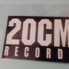 MAGNET FRIGIDER 20 CM RECORDS