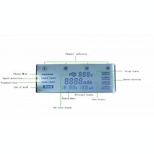 Incarcator inteligent  acumulatori LiitoKala Lii-500 . Li-Ion și Ni-Mh