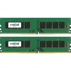 Memorie Crucial 8GB DDR4 2400MHz CL17 1.2v Dual Channel Kit - Memorie RAM