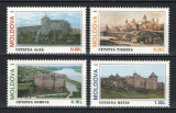 MOLDOVA 1995 - CETATI - SERIE DE 4 TIMBRE - NESTAMPILATA - MNH / moldova121